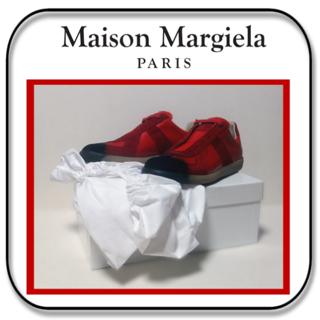 マルタンマルジェラ(Maison Martin Margiela)の25~25.5cm : メゾン マルジェラ レプリカ イタリア製 オールレザー(スニーカー)
