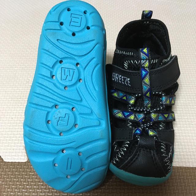 BREEZE(ブリーズ)のキッズサンダル キッズ/ベビー/マタニティのキッズ靴/シューズ (15cm~)(サンダル)の商品写真