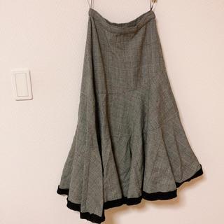コムデギャルソン(COMME des GARCONS)の美品 最終値下げ トリコ イレヘムスカート即購入可能(ひざ丈スカート)