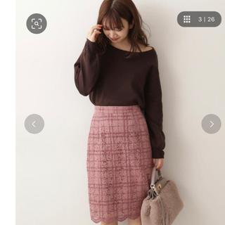 PROPORTION BODY DRESSING - プロポーションボディドレッシング♡チェックフロッキータイトスカート