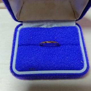 【最終値下げ】シンプルゴールドリング(リング(指輪))