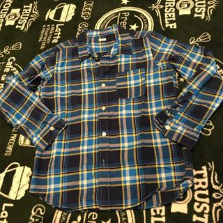 GU - GU チェックシャツ 140