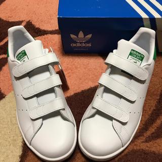 アディダス(adidas)の新品 アディダス スタンスミス ベルクロ 24.0(スニーカー)