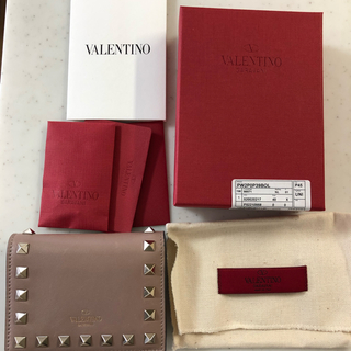 valentino garavani - VALENTINO☆折り財布