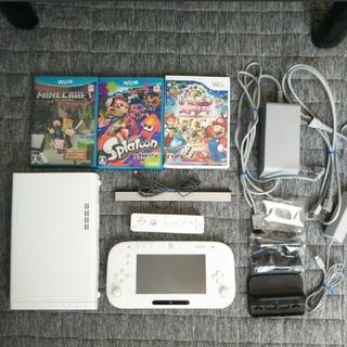 Wii U - wii U プレミアムセット+ソフト3本