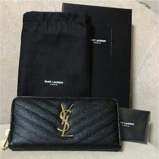 イヴサンローランボーテ(Yves Saint Laurent Beaute)の人気品   イブサンローラン長財布ブラック(財布)