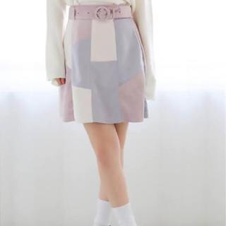 ワンアフターアナザーナイスクラップ  パッチワーク スカート