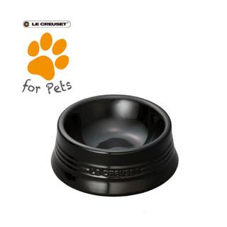 ルクルーゼ(LE CREUSET)のルクルーゼ ペットボール(ドッグボール )  シャイニーブラック Sサイズ (犬)