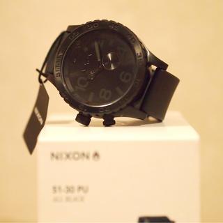NIXON - NIXON 51-30 PU ALL BLACK