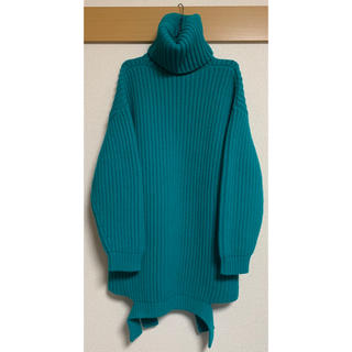 バレンシアガ(Balenciaga)の新品未使用 バレンシアガ タートルネック 変形 セーター ニット ユチョン (ニット/セーター)