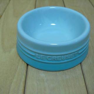 ルクルーゼ(LE CREUSET)のルクルーゼ ペットボール(ドッグボール )  サテンブルー Sサイズ(犬)