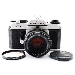 PENTAX - 美品 Pentax KX /55mm f1.8 フィルム 一眼レフ 510878