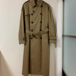 ハイク(HYKE)のHYKE big fit trench coat 【2019AW新品】(トレンチコート)