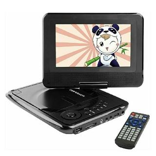 ポータブルDVDプレーヤー 7インチ ブラック  新品 未使用(DVDプレーヤー)