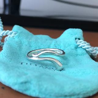 ティファニー(Tiffany & Co.)のティファニー  ドロップリング 8号 シルバー(リング(指輪))