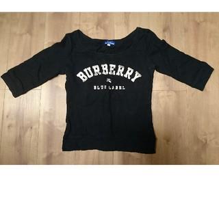 バーバリーブルーレーベル(BURBERRY BLUE LABEL)のBURBERRYトレーナー(トレーナー/スウェット)
