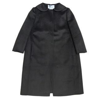 プラダ(PRADA)の新品プラダ 軽量 1枚仕立てカシゴラコート 黒 #38 PRADA(ロングコート)