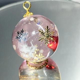 雪の結晶ダイヤ ネックレス(ネックレス)
