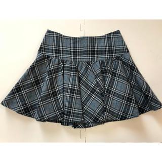 セシルマクビー(CECIL McBEE)のCECIL McBEE  チェック柄 スカート(ミニスカート)