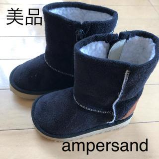 アンパサンド(ampersand)の美品☆アンパサンド  キッズ ブーツ 13.5(ブーツ)