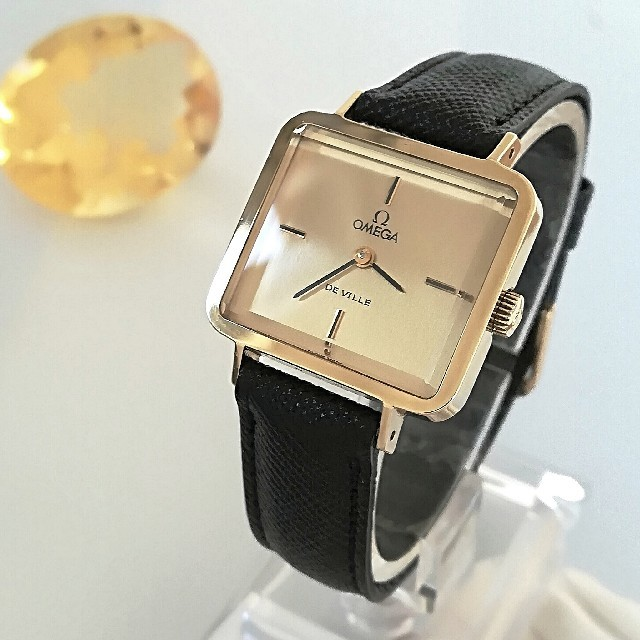 OMEGA - ⭐OH済 綺麗 オメガ レディースウォッチ 時計 クリスマス卒業式にも ギリ美品の通販