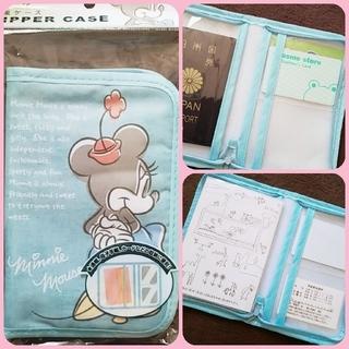 Disney - 【新品未開封】ディズニートラベルグッズ♡マルチケースお薬手帳入れパスポートケース