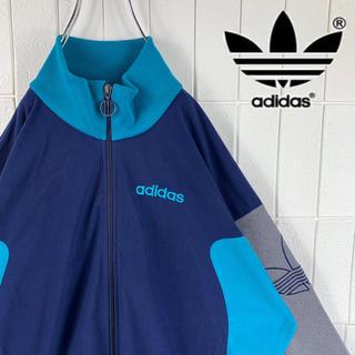 アディダス(adidas)のadidas アディダス トラックジャケット サイドデザイン バッグロゴト銀タグ(ジャージ)
