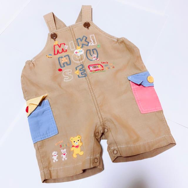 mikihouse(ミキハウス)のMIKIHOUSE   オーバーオール キッズ/ベビー/マタニティのベビー服(~85cm)(カバーオール)の商品写真