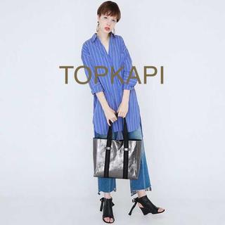 トプカピ(TOPKAPI)の新製品✨♢TOPKAPI♢メタリックレザートートバッグ(トートバッグ)