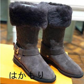 LOUIS VUITTON - LVライン ブーツ雪靴/長靴