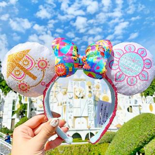Disney - ディズニーカチューシャ イッツアスモールワールド 海外 非売品
