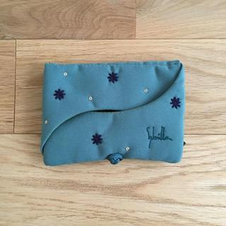 Sybilla - シビラ(Sybilla)刺繍ミニポーチ(ポケットティッシュ&アクセサリー)