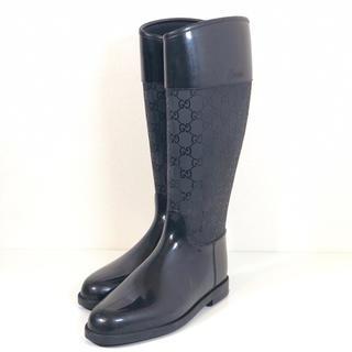 Gucci - GUCCI レインブーツ 長靴 グッチ 39サイズ 24cm