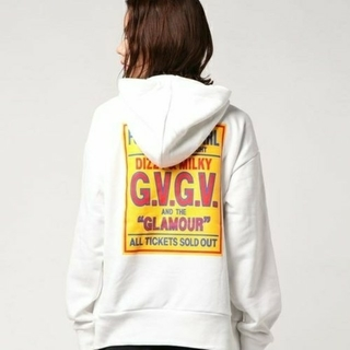 HYSTERIC GLAMOUR - ヒステリックグラマー G.V.G.V パーカー M