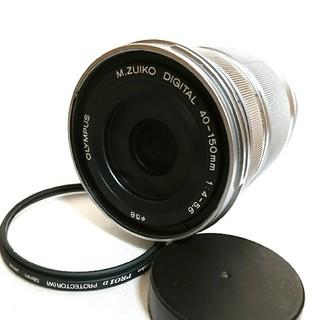 OLYMPUS - プロテクター付 OLYMPUS PEN PL 40-150 望遠ズーム