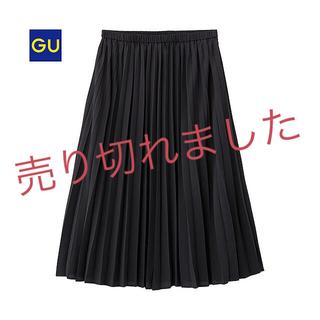 GU - GU♥︎プリーツスカート黒