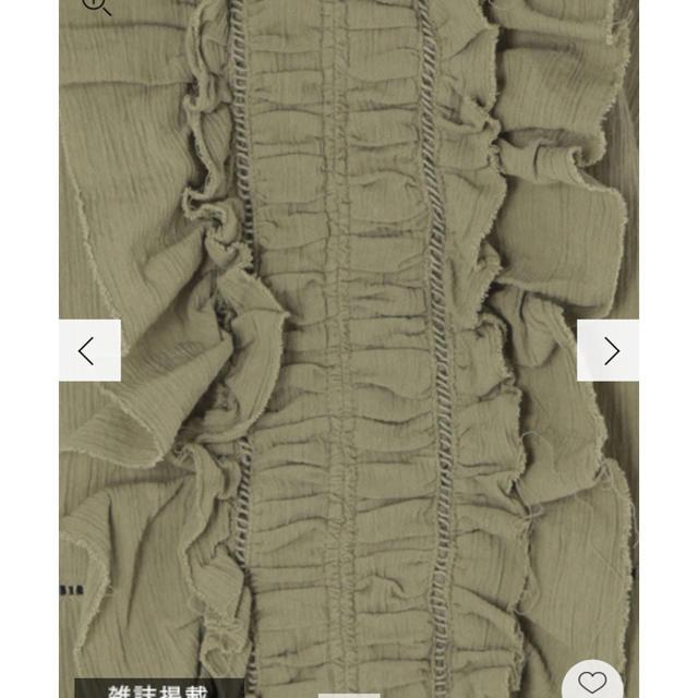 Ungrid(アングリッド)のungrid  コットンフリルレースブラウス  ♡ レディースのトップス(シャツ/ブラウス(長袖/七分))の商品写真