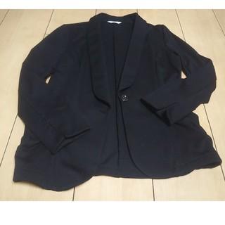 ハニーズ(HONEYS)のジャケット 黒 L(テーラードジャケット)