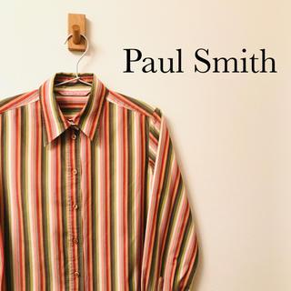 ポールスミス(Paul Smith)の【美品】Paul Smith ポールスミス マルチカラー長袖シャツ(シャツ/ブラウス(長袖/七分))