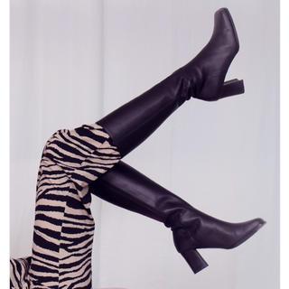 エディットフォールル(EDIT.FOR LULU)のthe virgins ♡ square  boots(ブーツ)