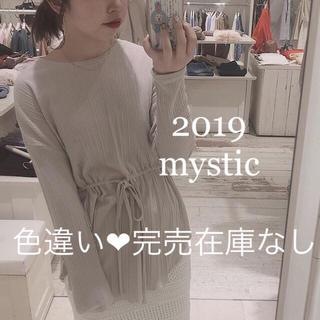 mystic - 2019❤︎新品タグ付き❤︎ギャザーリボンプルオーバー