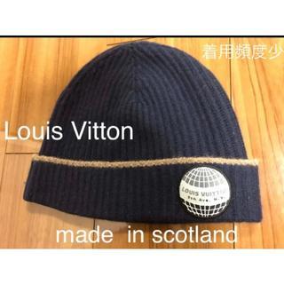 ルイヴィトン(LOUIS VUITTON)の底値!Louis Vitton ニットキャップ(ニット帽/ビーニー)