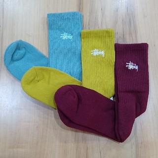 STUSSY - ☆新品☆ STUSSY メンズ ソックス 3点セット stussy 靴下