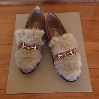 ダイアナ(DIANA)のDIANA ダイアナ ファーローファー(ローファー/革靴)