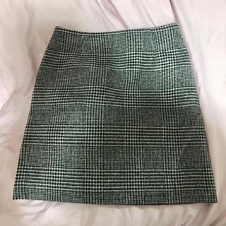 ナチュラルビューティーベーシック(NATURAL BEAUTY BASIC)のNATURAL BEAUTY BASIC ウール台形スカート(ひざ丈スカート)