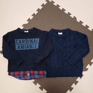 サンカンシオン(3can4on)のセーター(ニット)