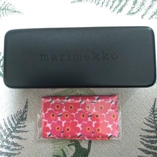 マリメッコ(marimekko)のmarimekko マリメッコ メガネケース一式 新品未使用(サングラス/メガネ)