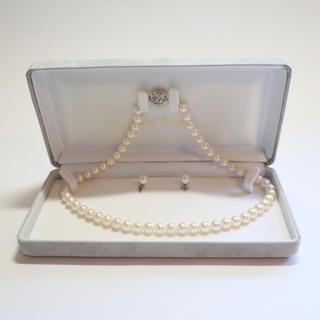 パール(pearl)の『ひまわりさま専用』Pearl house☆本パール ネックレス&ピアス セット(ネックレス)
