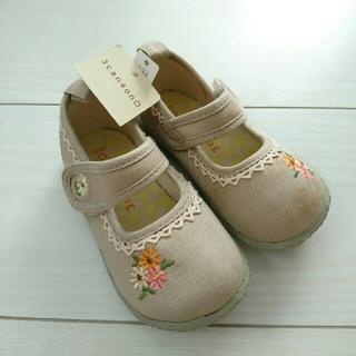 サンカンシオン(3can4on)の3can4on 女の子 靴 未使用品 14㎝ 汚れあり(その他)