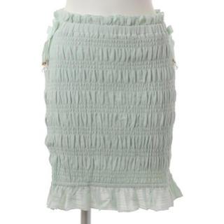 LIZ LISA - シャーリングスカート グリーン LIZ LISA 新品 未使用 送料込み